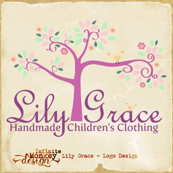 lily grace logo design
