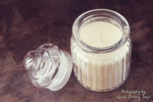 product photography soy candles