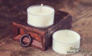 soy candles photography